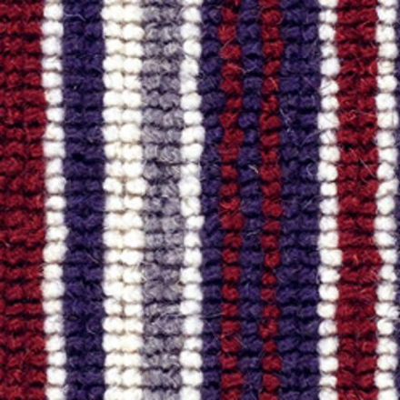Cheltenham Stripe Carpet - Burgundy